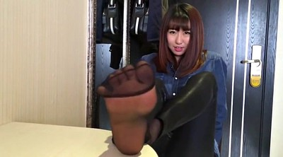 Nylon, Asian foot, Asian feet