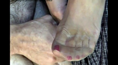 Stockings foot, Nylon foot, Nylon feet, Stockings feet, Cumming