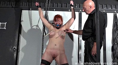 Bdsm torture, Black bondage, Red hair