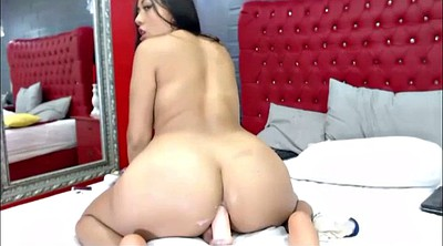 Anal dildo, All anal, Colombian