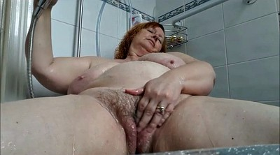 Bath, Bbw wife, Wife shower, Bbw shower, Bathing