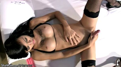 Black, Black stockings, Stockings shemale
