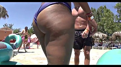 Beach, Big ass latina