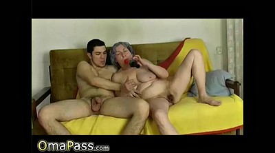 Older, Granny masturbation