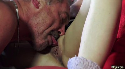 Old pussy, Granny swallows
