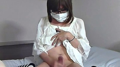 Japanese masturbation, Japanese amateur, Japanese crossdresser