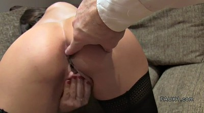 Stockings, Stocking anal, Anal casting