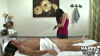 Massage handjob, Asian oil