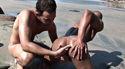 Beach, Gay black