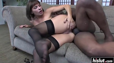 Anal stocking, Anal interracial