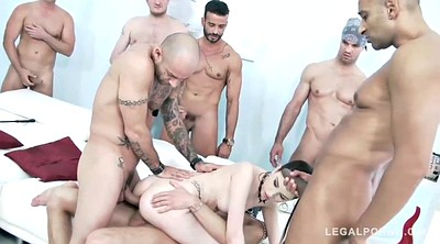 Orgy anal