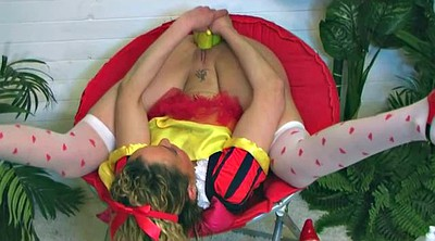 Snow white, Pussy gape, Gaping pussy