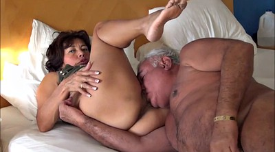 Asian mature, Pussy licking, Pussy lick