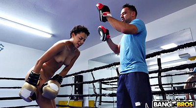 Train, Black teen, Training, Ebony teens, Boxing