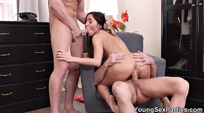 Party, Nubiles, Double anal, Teen dp