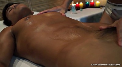 Gay massage, Oiled