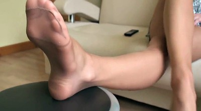 Nylon, Nylon foot, Pantyhoses