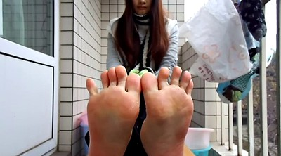 Chinese foot, Chinese feet, Sole, Asian feet, Chinese teen, Chinese s