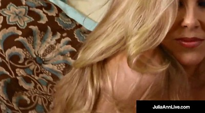 Julia ann, Orgasm, Julia, Pantyhose cum, Strip, Pantyhose mature