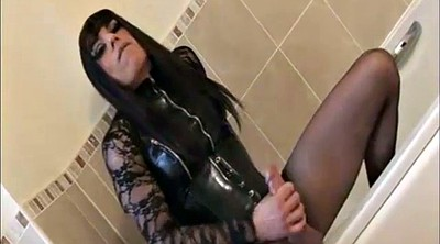 Latex, Crossdressers, Shemale cum, Crossdressing