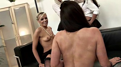 Office, Teen sex, Office lesbian, Lesbo, Nylon sex, Four