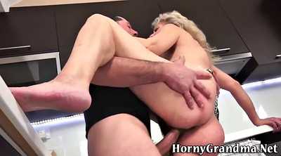 Hairy anal, Granny ass