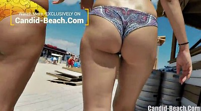 Hidden cam, Hidden beach, Beach ass