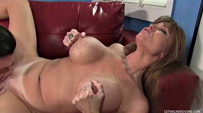 Matures with big tits, Blonde mature