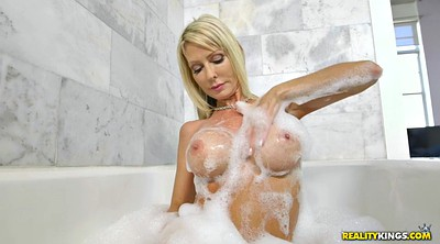Masturbation, Into pussy, Jump, Solo shower