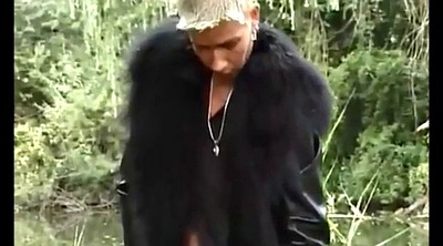 Leather, Fur, Compilation outdoor, Collar, Coat