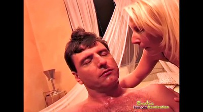 Spit, Femdom cuckold, Trouble