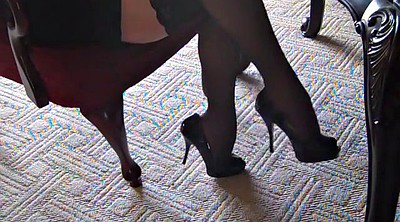 Heels, Silk, High-heeled