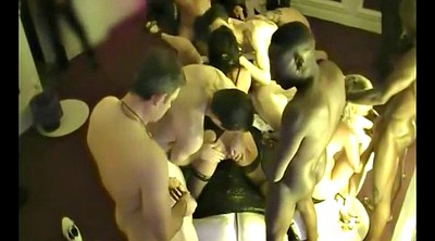 Couple, Swinger party, Private party, Private, Bull