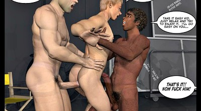 Cartoon, Studio, Gay interracial, Comic, Pictures, Sex cartoon