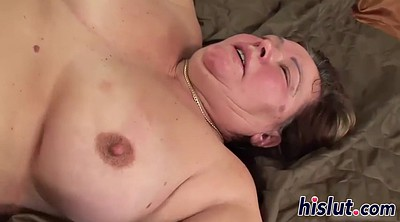 Mature creampie, Fatty