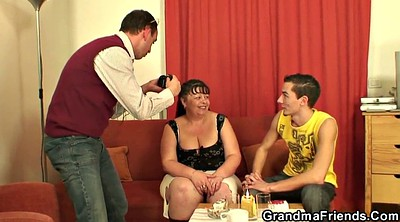 Fat granny, Old wife, Fat old, Fat grannies, Young bbw, Wife threesome
