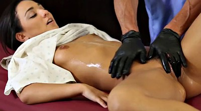Cock massage, Young tits, Old doctor, Doctors