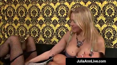Julia ann, Jaymes, Busty mature, Anne