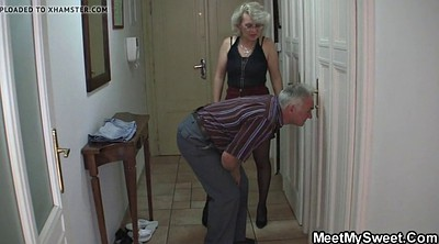 Old couple, Trick, Mature couples