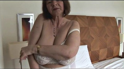 Hairy granny, Huge boobs