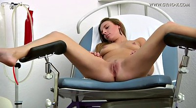 Nurse, Gyno, Medical, Gyno exam, Exam, Czech anal