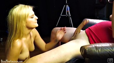 Swallower, Swallow, Blond swallow, Pov swallowing, Casting couch