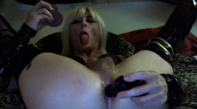Crossdresser, Gay dildo, Amateur gay