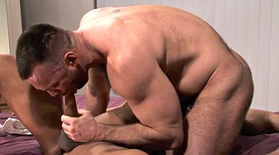 Daddy, Muscle daddy, Hairy interracial