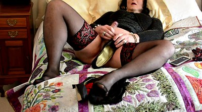 Cd, Nylons, Nylon masturbation