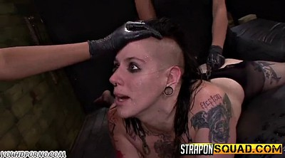 Lesbian strapon, Punish, Lesbian punishment, Punishment