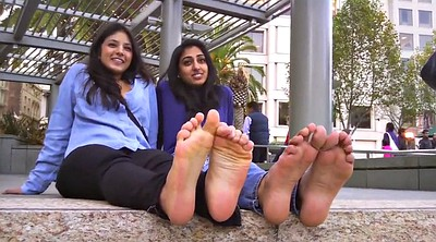 Foot, Indian girl