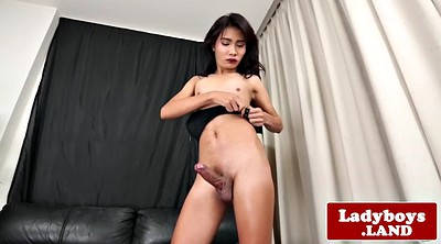 Ladyboy, Tease, Asian ass, Ass show, Asian ladyboy