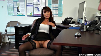 Leg, Clothed, Asian office, Softcore
