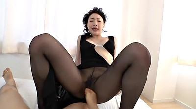 Asian, Nylon, Japanese black, Japanese pantyhose, Black japanese, In pantyhose